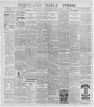 Portland Daily Press: March 10, 1896