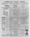 Portland Daily Press: March 12, 1896