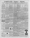 Portland Daily Press: March 13, 1896