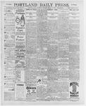 Portland Daily Press: March 14, 1896