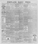 Portland Daily Press: March 16, 1896
