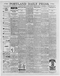 Portland Daily Press: March 21, 1896