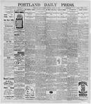 Portland Daily Press: March 23, 1896
