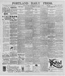 Portland Daily Press: March 25, 1896