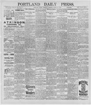 Portland Daily Press: March 26, 1896