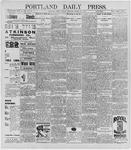 Portland Daily Press: March 27, 1896