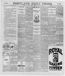 Portland Daily Press: March 28, 1896
