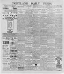 Portland Daily Press: March 30, 1896
