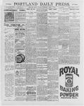 Portland Daily Press: April 4, 1896