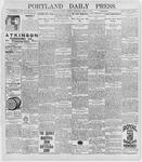 Portland Daily Press: April 6, 1896