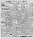 Portland Daily Press: April 8, 1896