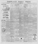 Portland Daily Press: April 10, 1896