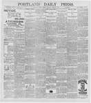 Portland Daily Press: April 13, 1896