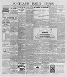 Portland Daily Press: April 15, 1896