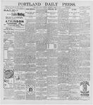 Portland Daily Press: April 16, 1896