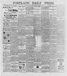 Portland Daily Press: April 20, 1896