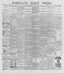 Portland Daily Press: April 21, 1896