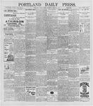 Portland Daily Press: April 24, 1896