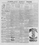 Portland Daily Press: April 25, 1896