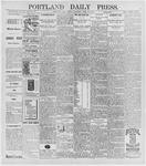 Portland Daily Press: April 27, 1896