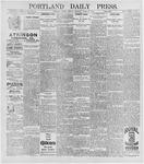 Portland Daily Press: April 28, 1896