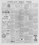 Portland Daily Press: April 29, 1896