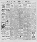 Portland Daily Press: May 1, 1896