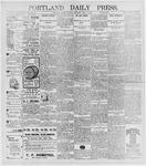 Portland Daily Press: May 4, 1896