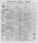 Portland Daily Press: May 5, 1896