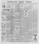 Portland Daily Press: May 7, 1896