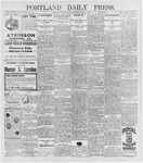 Portland Daily Press: May 8, 1896