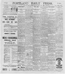 Portland Daily Press: May 9, 1896