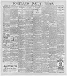 Portland Daily Press: May 12, 1896