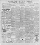 Portland Daily Press: May 13, 1896
