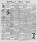 Portland Daily Press: May 15, 1896