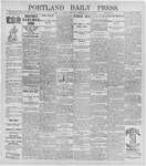 Portland Daily Press: May 16, 1896