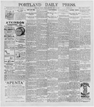 Portland Daily Press: May 22, 1896