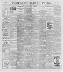 Portland Daily Press: May 23, 1896