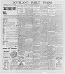 Portland Daily Press: May 25, 1896