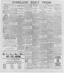 Portland Daily Press: May 26, 1896