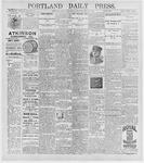 Portland Daily Press: May 27, 1896