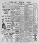 Portland Daily Press: May 28, 1896