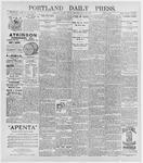 Portland Daily Press: May 29, 1896