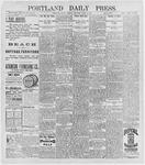 Portland Daily Press: June 1, 1896