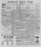Portland Daily Press: June 2, 1896