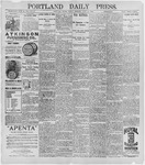 Portland Daily Press: June 12, 1896