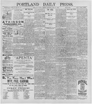 Portland Daily Press: June 16, 1896