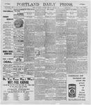 Portland Daily Press: June 20, 1896