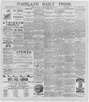 Portland Daily Press: June 23, 1896