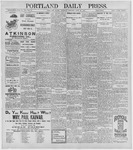 Portland Daily Press: June 25, 1896